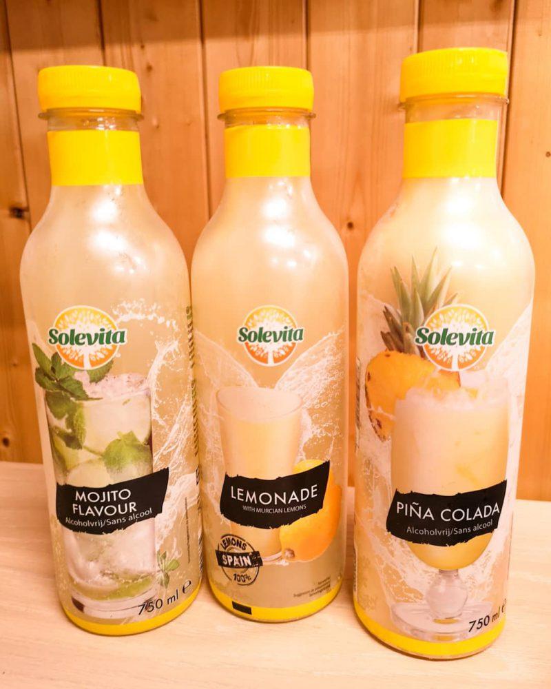Alcoholvrije Lemonade, Mojito & Piña Colada