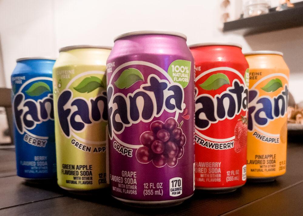 6 verschillende Fanta smaken | Alle  Fanta smaken