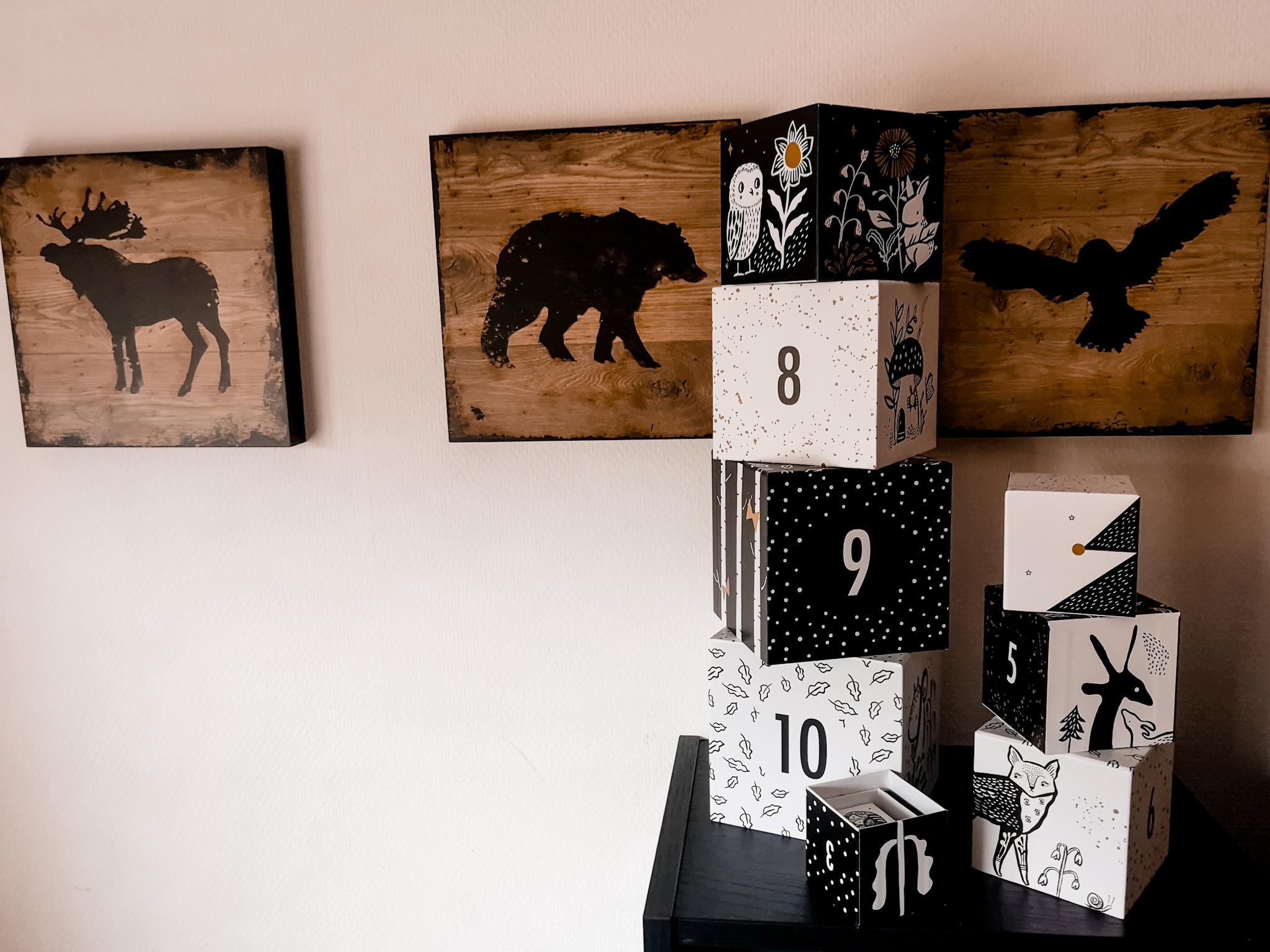 Mevrouw de beer - Blokkentoren met getallen