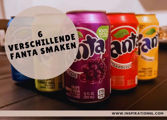 6 verschillende Fanta smaken | Hoofdafbeelding