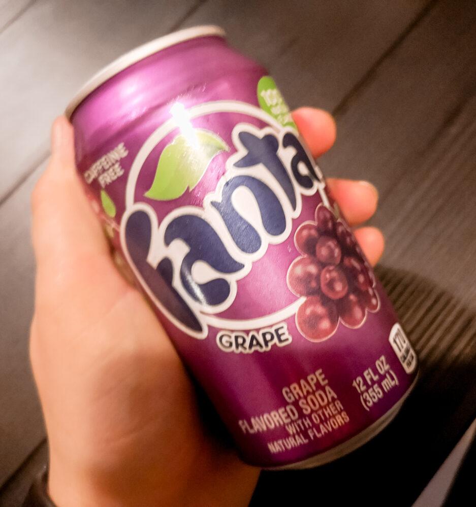 6 verschillende Fanta smaken | Fanta - Druif / Grapes