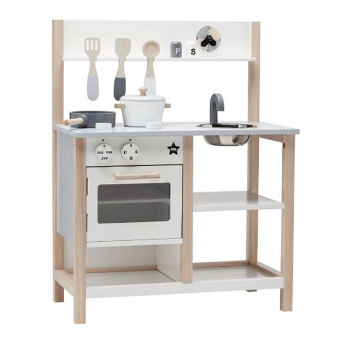 Houten keuken - Kidsdeco.nl