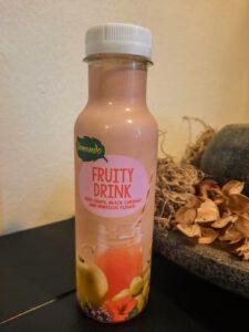 Fruity drink - Druif, zwarte bes en hibiscus flower