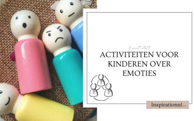Activiteiten voor kinderen over emoties