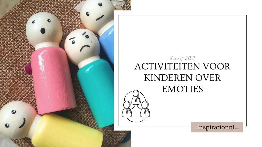 Hoofdafbeelding | Activiteiten voor kinderen over emoties