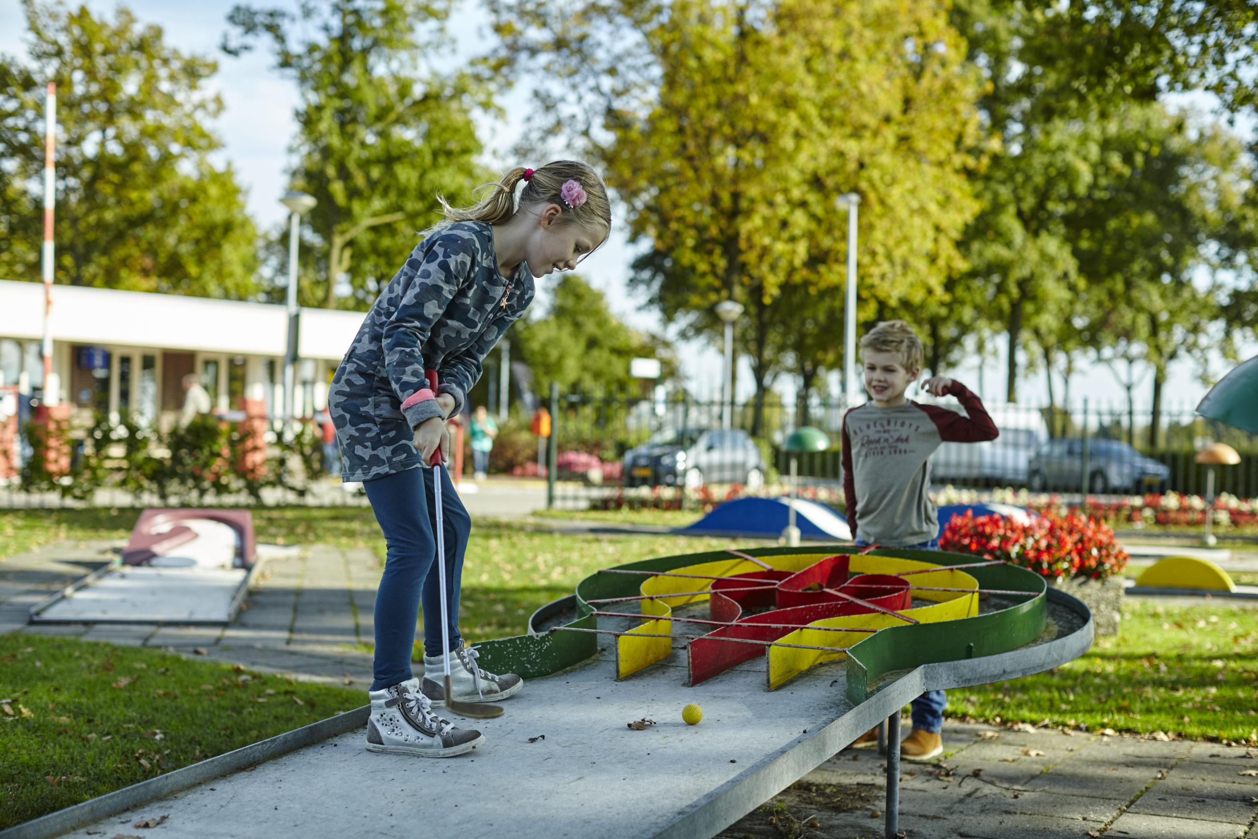 Midgetgolfbaan - Recreatiepark De Leistert