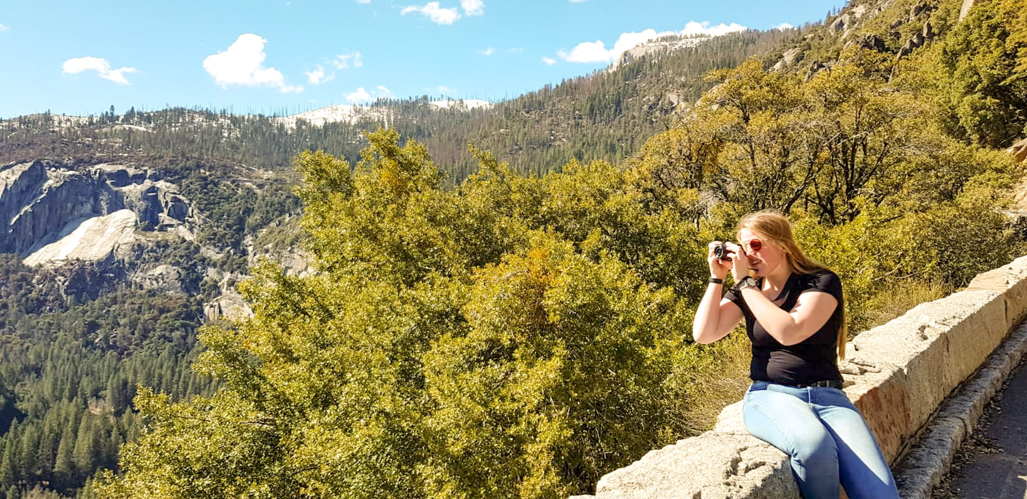 Joanne in Yosemite National Park, Amerika | Tips om te beginnen met fotograferen
