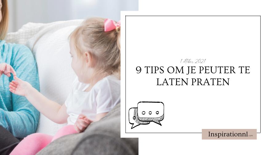 Hoofdafbeelding | 9 tips om je peuter te laten praten